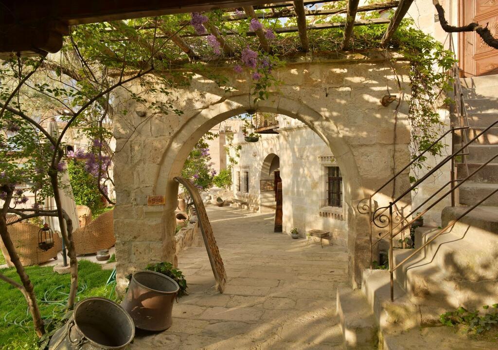 Tyrkiet Kappadokien Kelebek Cave Hotel Cappadocia travel rejser