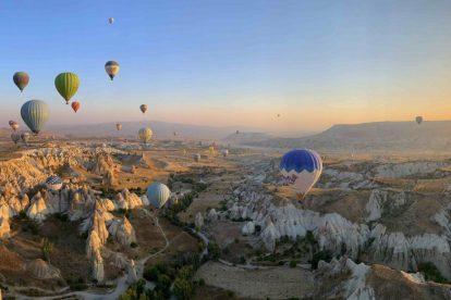 Turquia Capadócia Ballooning Viagem em balões da Capadócia