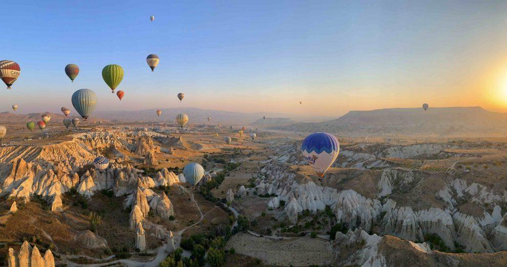 טורקיה קפדוקיה בלונים קפדוקיה נסיעות בלוני נסיעה