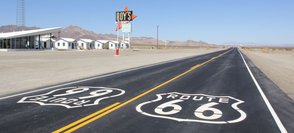 USA - Route 66, motel, road trip on Route 66 - travel