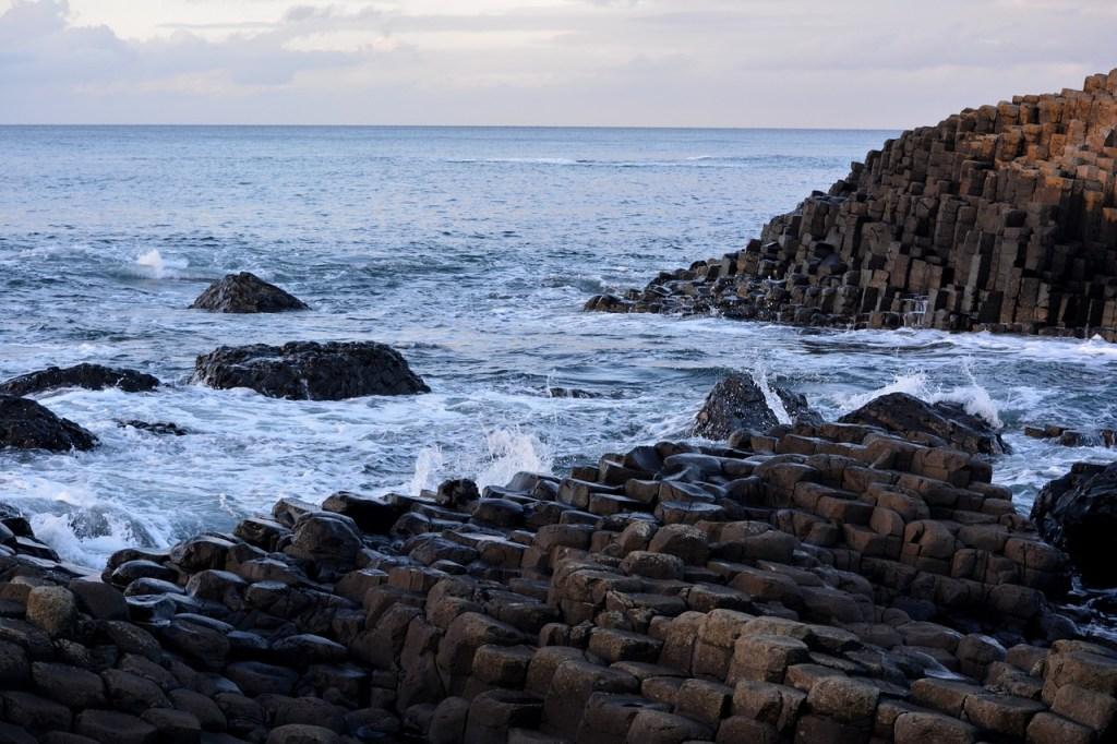Irland - Europa - Giants - causeway - kystlinje - rejser
