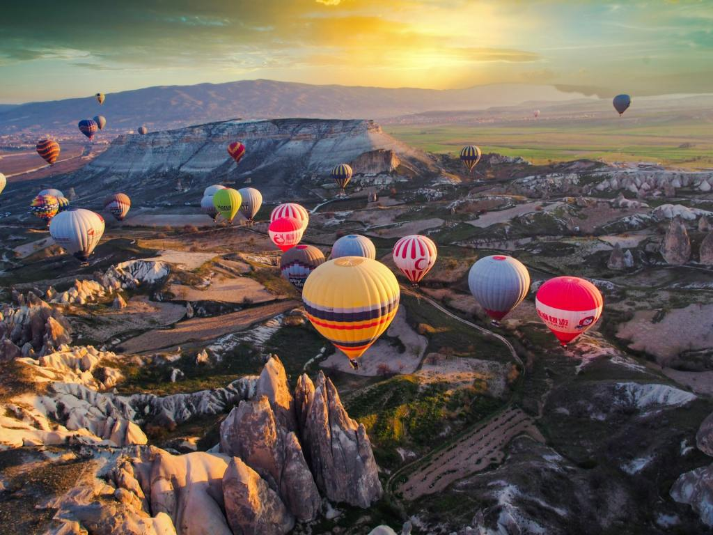 balloner - rejser