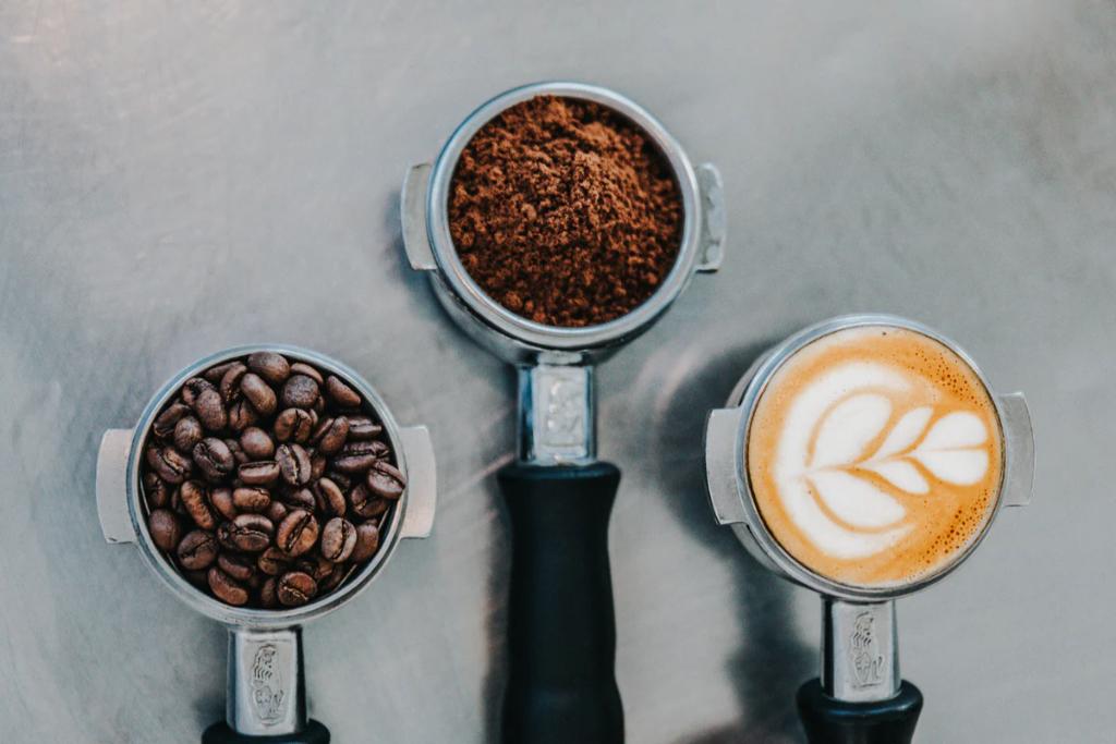 Denmark, 7 cool coffee shops, coffee portafilter travel