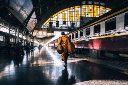 Thailand - bangkok - tog - railway - transport - rejser