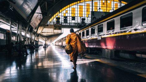 Thailand - bangkok - tog - jernbane - transport - reise