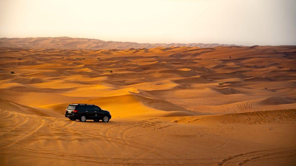 Forenede Arabiske Emirater - ørken, safari, rejser