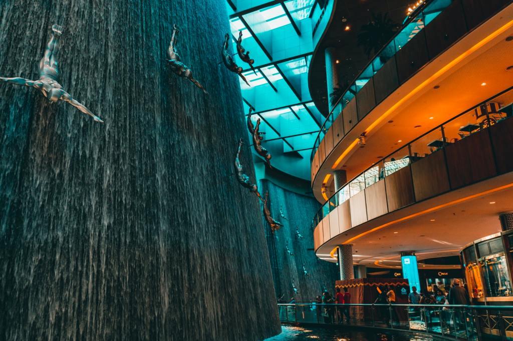 Dubai, Dubai Mall, rejser