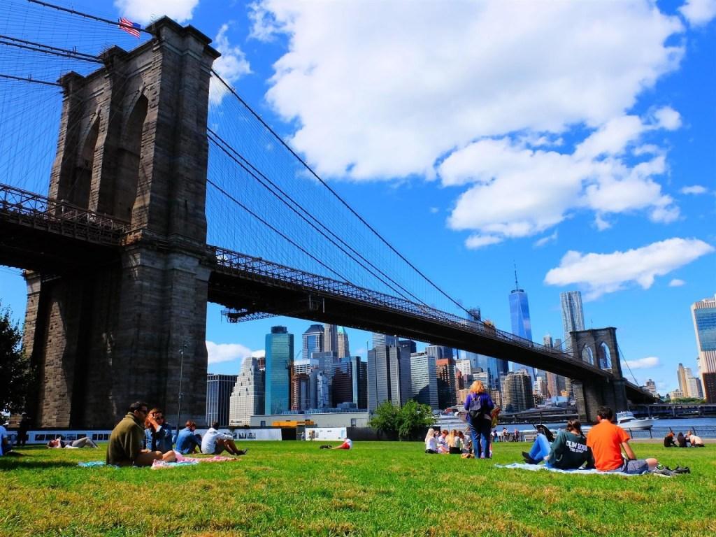 USA - New York, Brooklyn Bridge - rejser