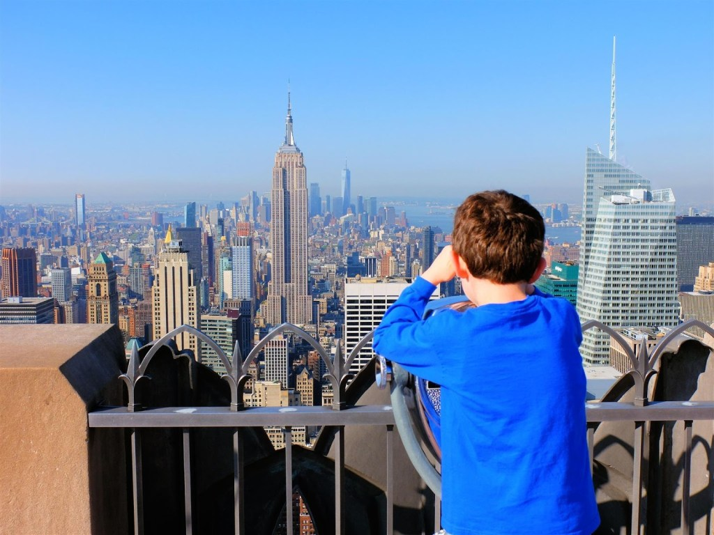 USA - New York, Top of the Rock, Empire State - rejser
