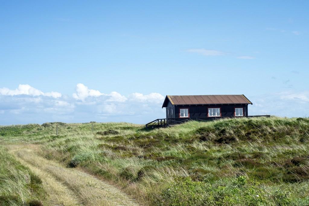 Casa de férias - dunas - Dinamarca - viajar