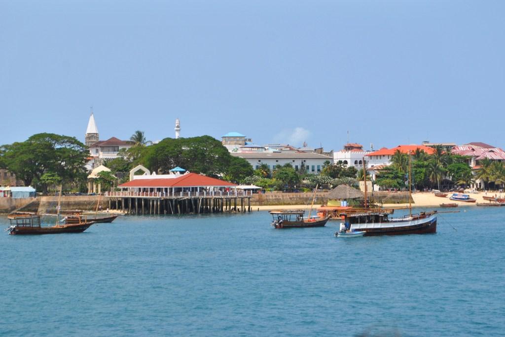Tanzania - Stone Town - Stonetown, havn, skibe, rejser