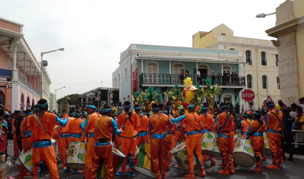 Karneval - samba-trommer - Kapp Verde - Mindelo - São Vicente