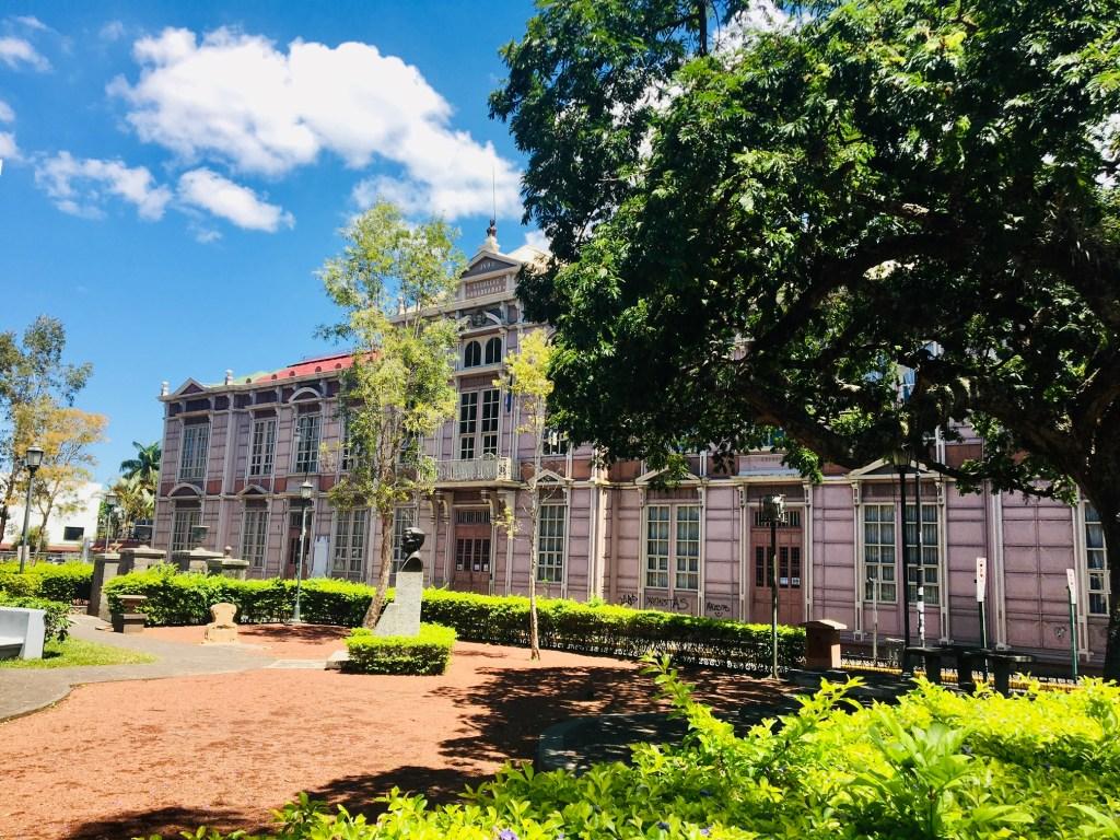 San José, Barrio Amón ve Otoya, ev, ağaç, park, Kosta Rika