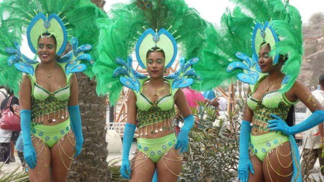 Carnaval - Cap Vert - cortège de samba - Mindelo