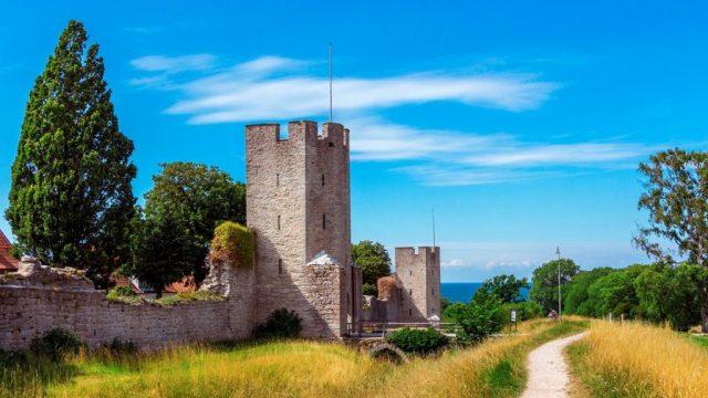 Svezia, Gotland, Visby, Stjernegaard travel, ring wall, travel