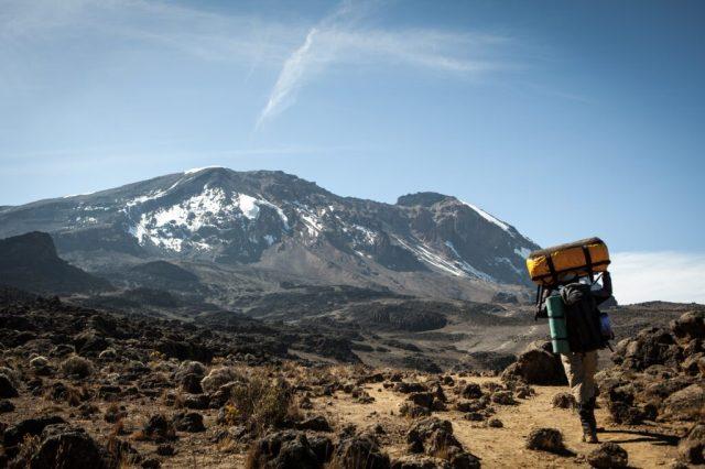 Kilimangiaro, Tanzania, tour e viaggi in risciò, africa, salita, salita, scalata, guida turistica danese, percorso machame, viaggio