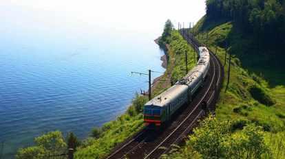 Rusija. Južna obala Bajkalskog jezera, Transsibirska željeznica, Mongolija, Kina, Rusija, putovanja, panoramska putovanja