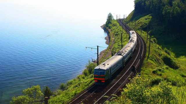 Russia. The southern shore of Lake Baikal, Trans-Siberian Railway, Mongolia, China, Russia, travel, panorama travel