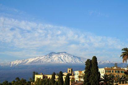 Włochy - Sycylia, Etna - podróż