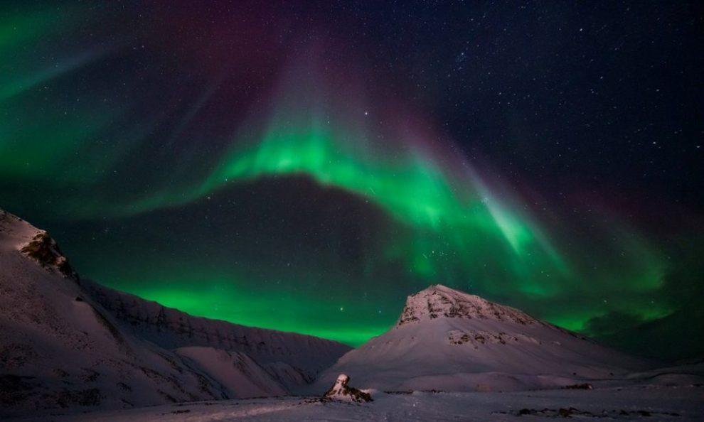 Noorwegen, Spitsbergen, noorderlicht, Stjernegaard Reizen, reizen