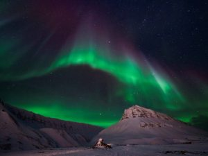 Norge, Svalbard, nordlys, Stjernegaard Rejser, rejser