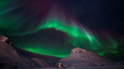 Norveška, Svalbard, sjeverno svjetlo, Stjernegaard Putovanja, putovanja