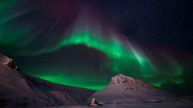 Norvegia, Svalbard, aurora boreale, Stjernegaard Travel, travel