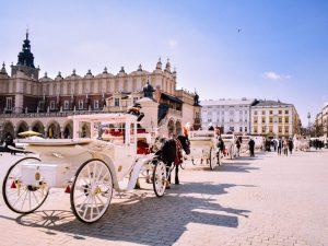クラクフ、ポーランド、文化の街、ヨーロッパの大都市、旅行、vitus旅行