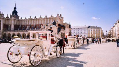 Krakow, Poljska, grad kulture, veliki grad u Europi, putovanja, vitus putovanja