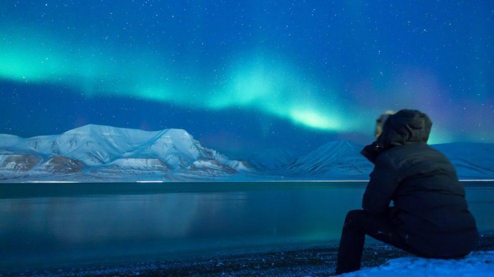 Svalbard, archipel, aurores boréales, norvège, vitus travel, offres de voyage, voyage, traîneau à chiens