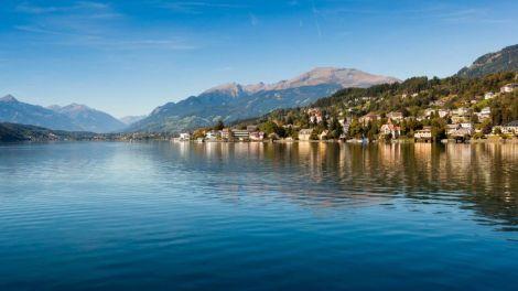 Østrig, Millstätter See - Kärnten, sø, by, rejser, Nilles rejser