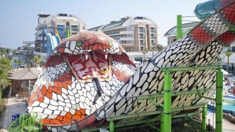 Turkey, Side, Crystal Waterworld Resort & Spa, Water Park, Travel
