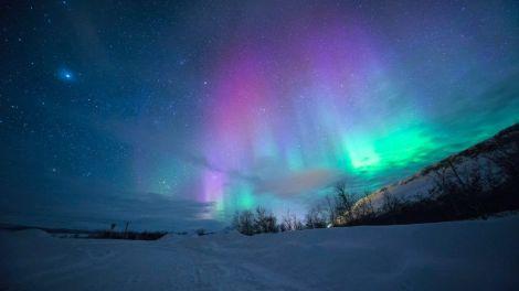 Nordlys, aurora borealis, Norge, reiser