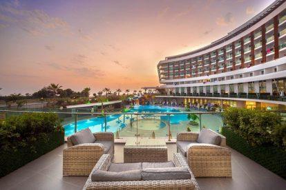 טורקיה, חוף אלניה, קונאקלי, מלון, נסיעות