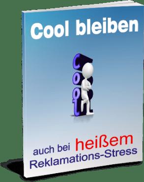 EBook-Cover Cool bleiben bei stressigen Reklamationen