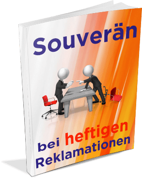Das Cover vom EBook Souverän bei heftigen Reklamationen
