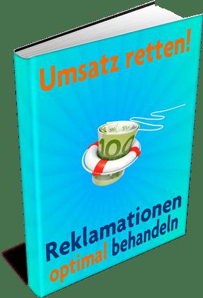 EBook-Cover Umsatz retten – Reklamationen optimal behandeln