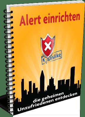 EBook-Cover Alert-Dienste optimal nutzen für unzufriedene Kunden