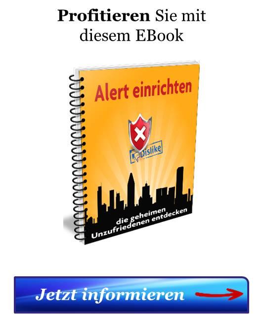 Der Hinweis zum EBook Alert einrichten zum Abrufen von mehr Informationen