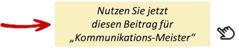 Abruf Beiträge Kommunikation in der Reklamations-Behandlung