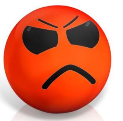 Bei brisanten Fehlern bekommen zornige Kunden schnell einen roten Kopf.