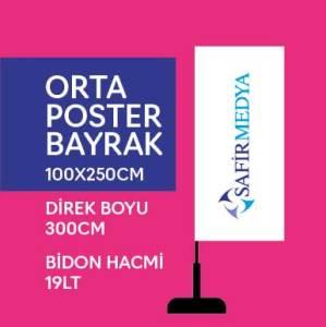 ORTA POSTER BAYRAK
