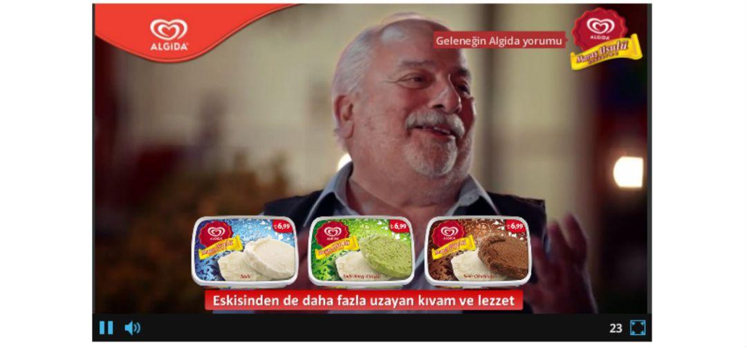 Interaktif Video Reklami - 1i