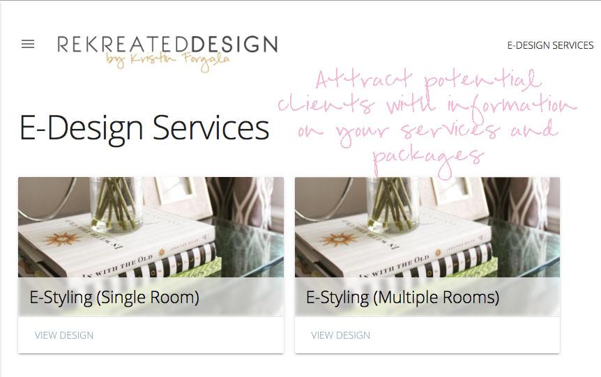 E-design services