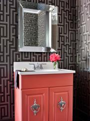 Bold Bathroom