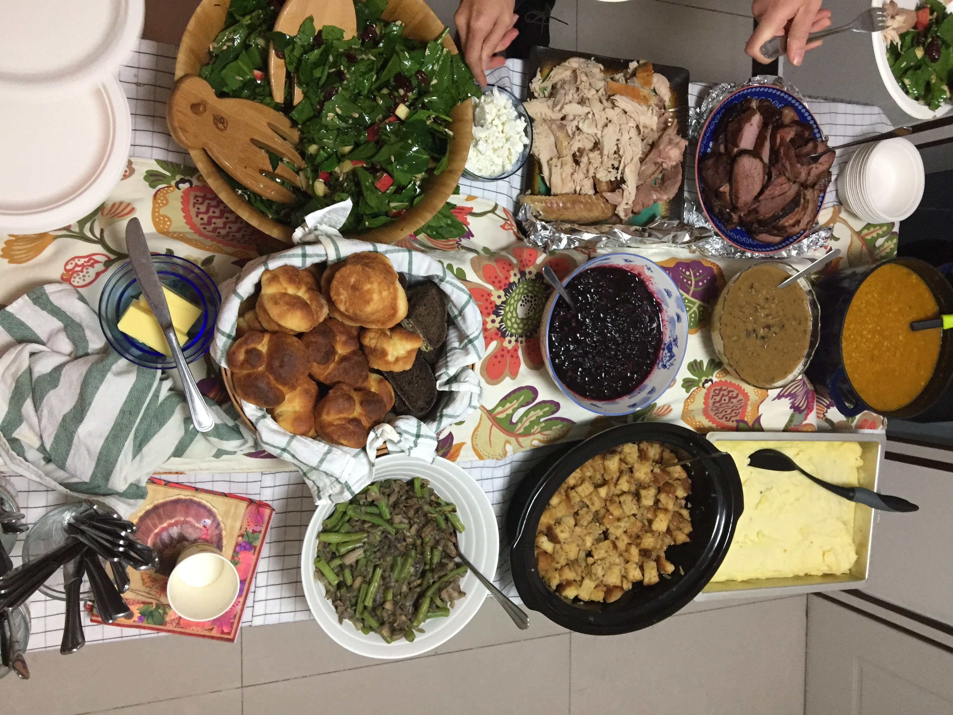 Creating Thanksgiving in China