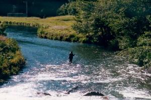 Pêcheur à Bonnac