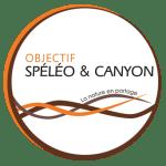 logo Objectif spéléo et canyon