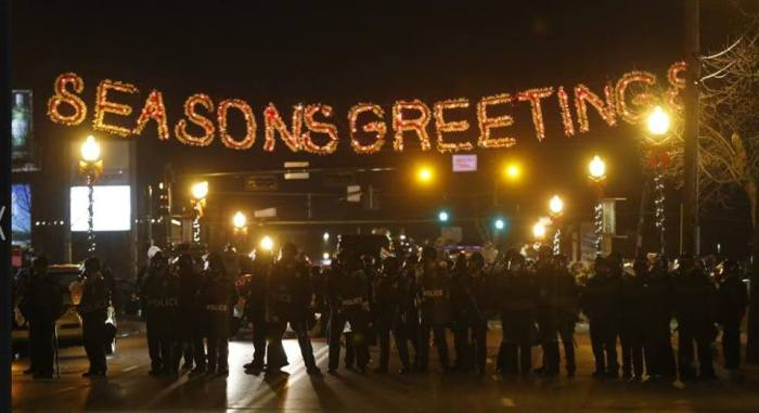 Season's Greetings from Ferguson PD