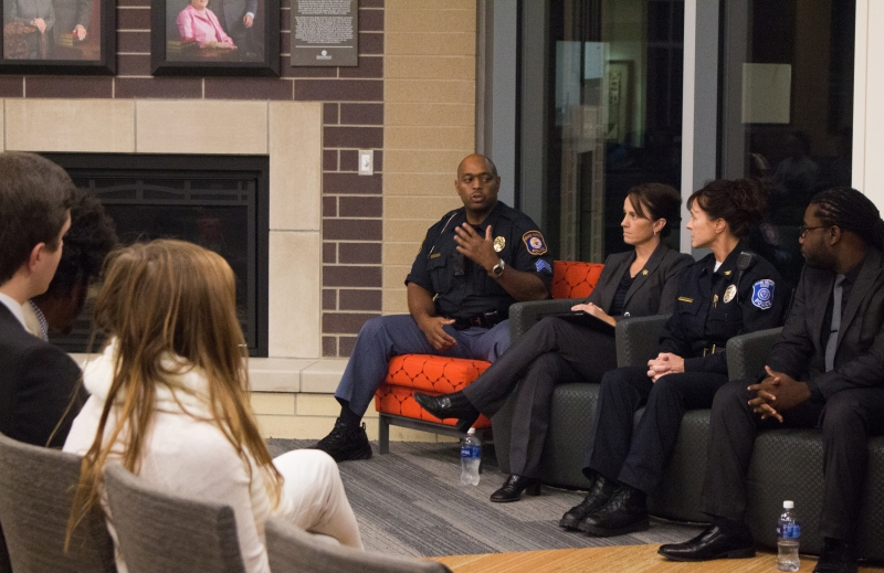 "Article: ""GVSU Panel Examines Impact of Police Brutality"""